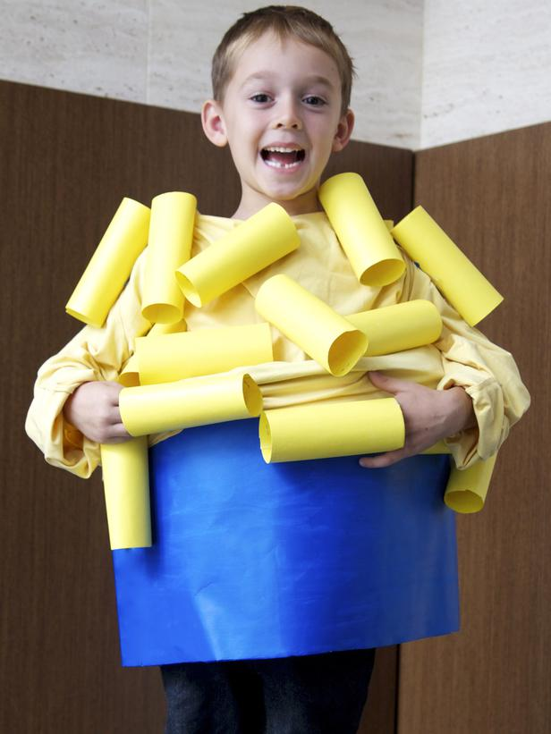 12 clever diy halloween costumes for kids 2 mac cheese bowl solutioingenieria Images
