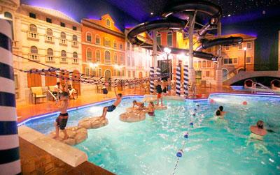 Venetian indoor waterpark for Public indoor swimming pools minneapolis