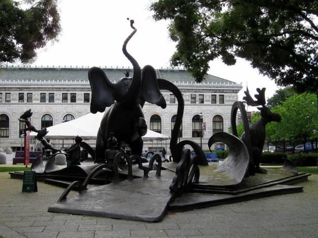 Dr Seuss National Memorial Sculpture Garden